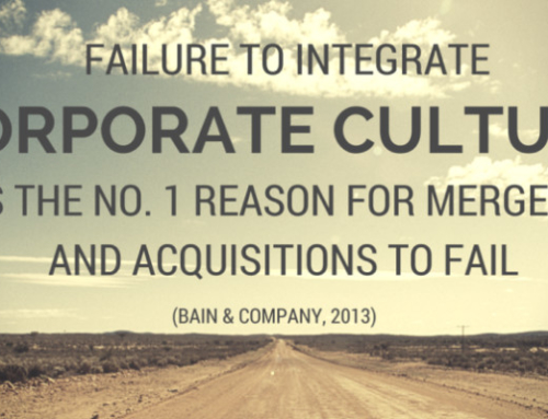 Culture driven due diligence